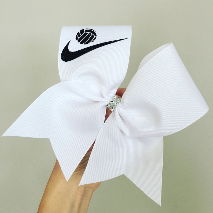Volleyball Swoosh Big Bow volleyball ribbon Nike inspired more colors