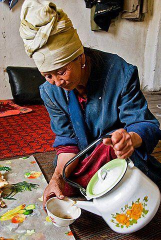 Tea Murgab, Pamir highway, Tajikistan, Asia
