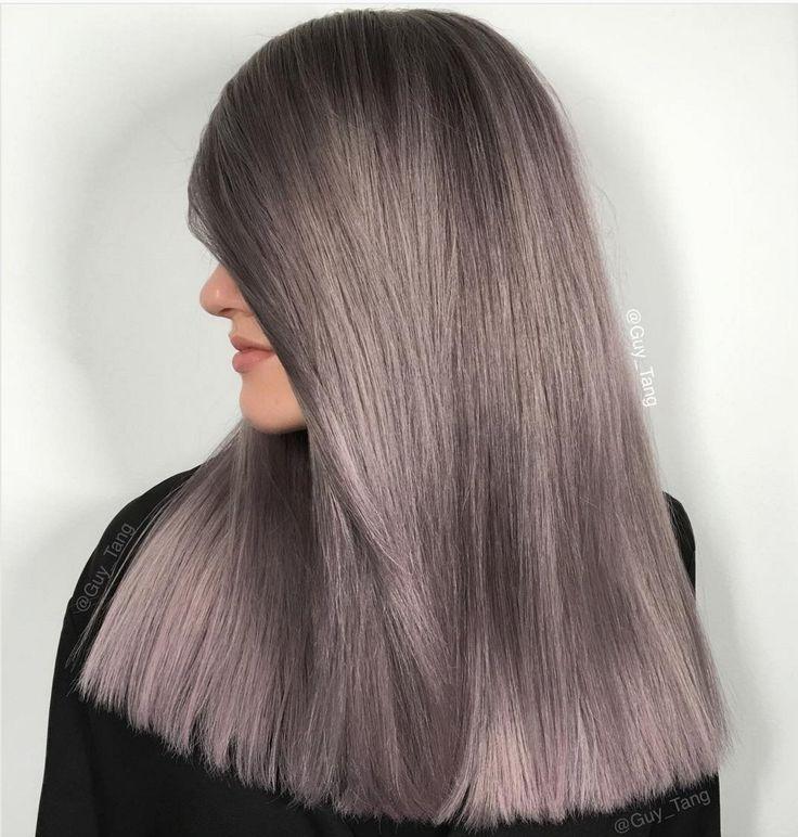 Un smoky cheveux gris