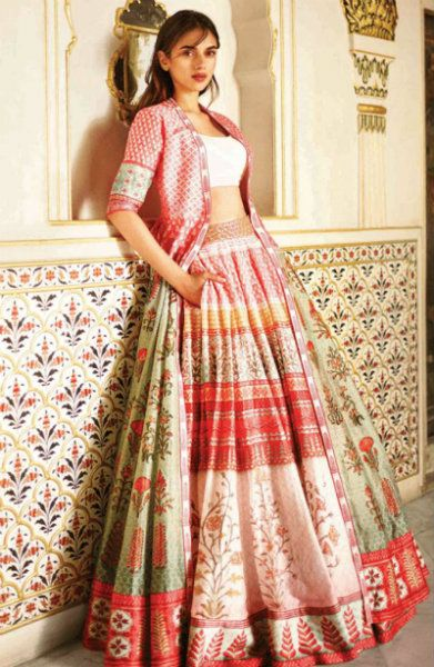 Fullonshaadi - Indian Wedding Outfits - Anita Dongre Love Notes Aditi Rao - Pink Lehenga