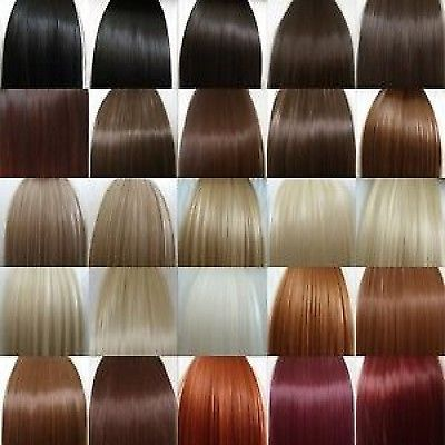 "24"" ONE PIECE CLIP IN HAIR EXTENSION OR CLIP IN FRINGE OR CLIP IN HIGHLIGHT SETS  