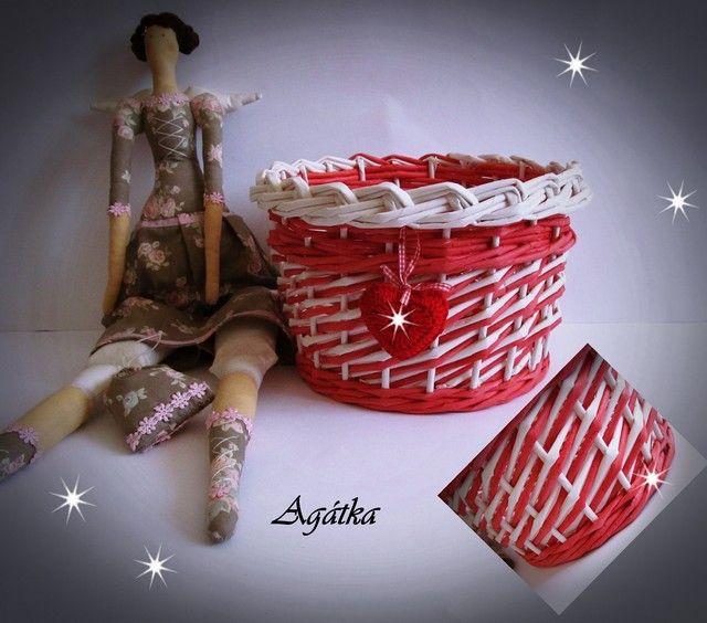 Moje pletení z papíru - Fotoalbum - NÁVOD - VZORY PLETENÍ - NÁVOD - NA VZOR VRSTVA