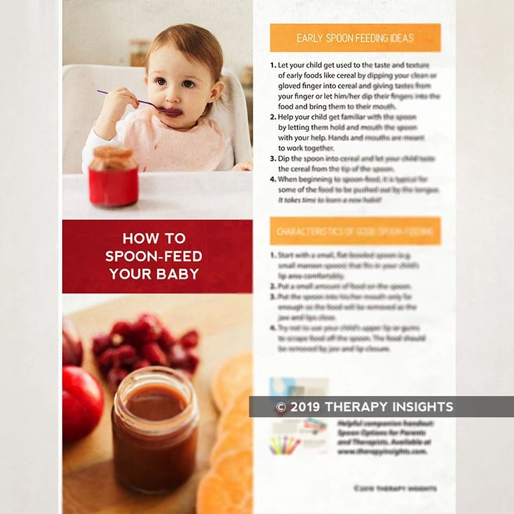 How to Spoon Feed Your Baby Cavities, Therapy, Pediatrics