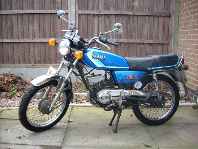 Yamaha RX-S  another smelly two stroke