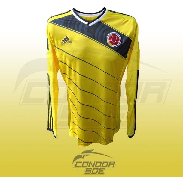 Camisa selección Colombia mundial Brasil 2014