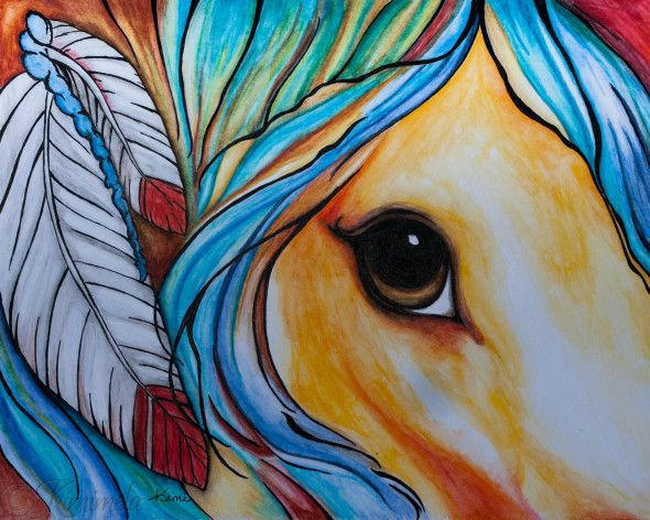 Horse and Feathers