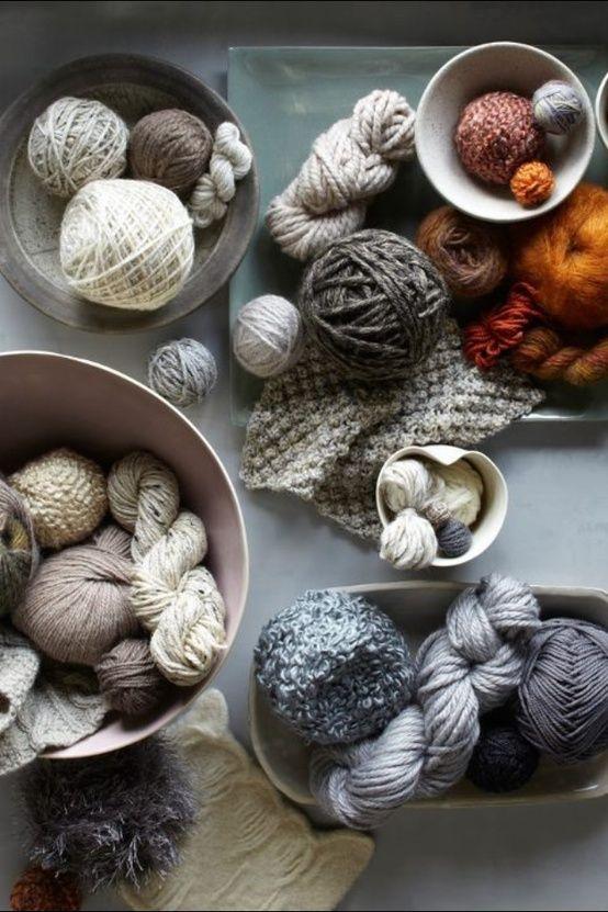 Knit & Style Diary: Knit inspiration