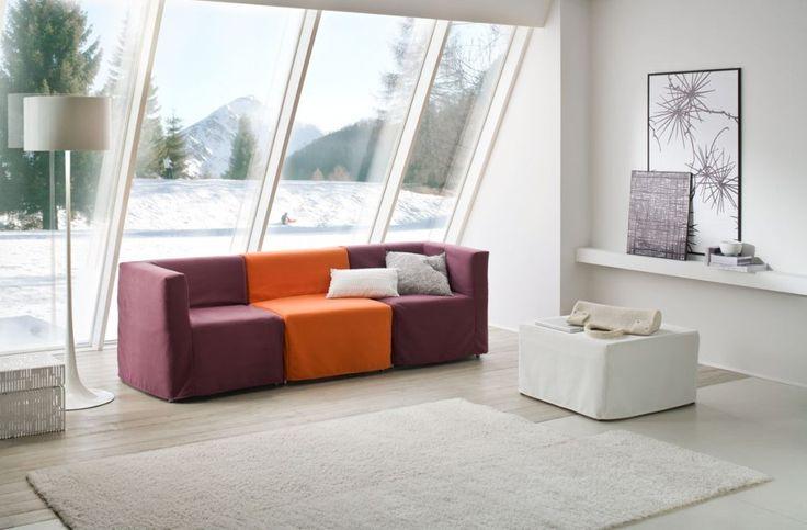 OPLA  divano 3 posti con 3 letti singoli Sofa Club