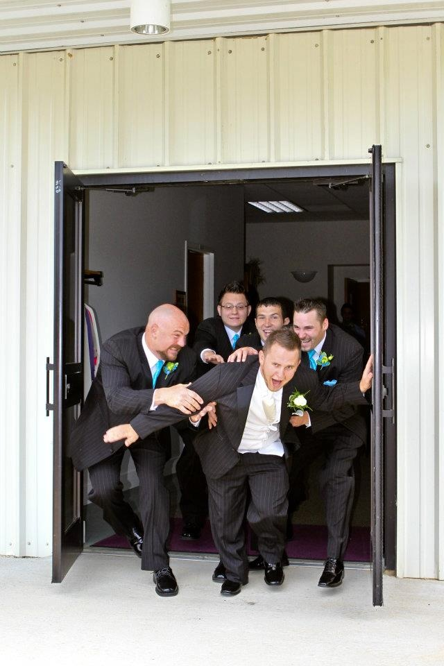 Groomsmen Photo. Melissa Conn Photography.