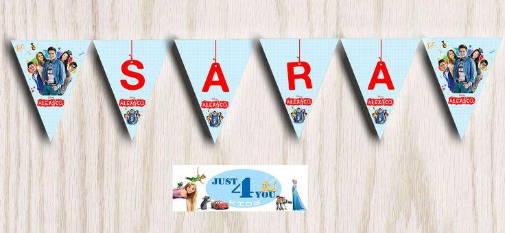 Festone bandierine per feste a tema ALEX E CO !!! | Casa, arredamento e bricolage, Feste e occasioni speciali, Feste e party | eBay!