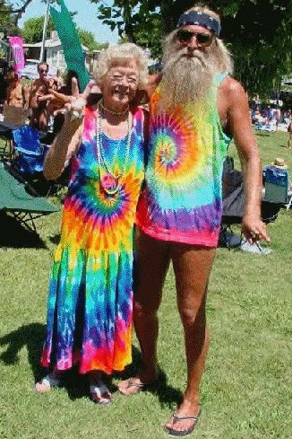 old hippies!