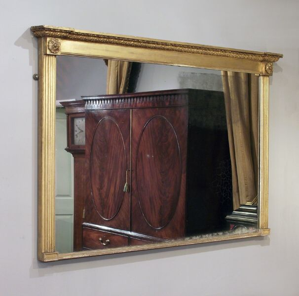 17 best Georgian gilded overmantle mirrors images on Pinterest ...