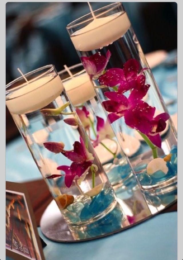 Center Pieces with orchids table decor purple orchid wedding venue #villasaopaulo wedding destination portugal marry abroad
