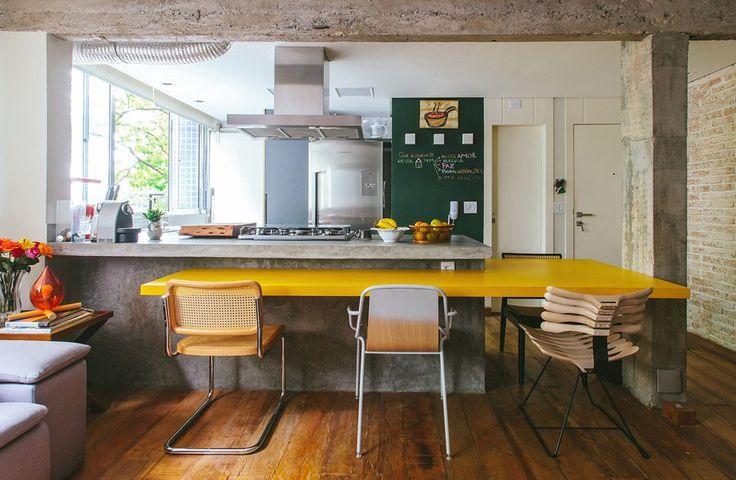 01-decoracao-cozinha-concreto-amarelo