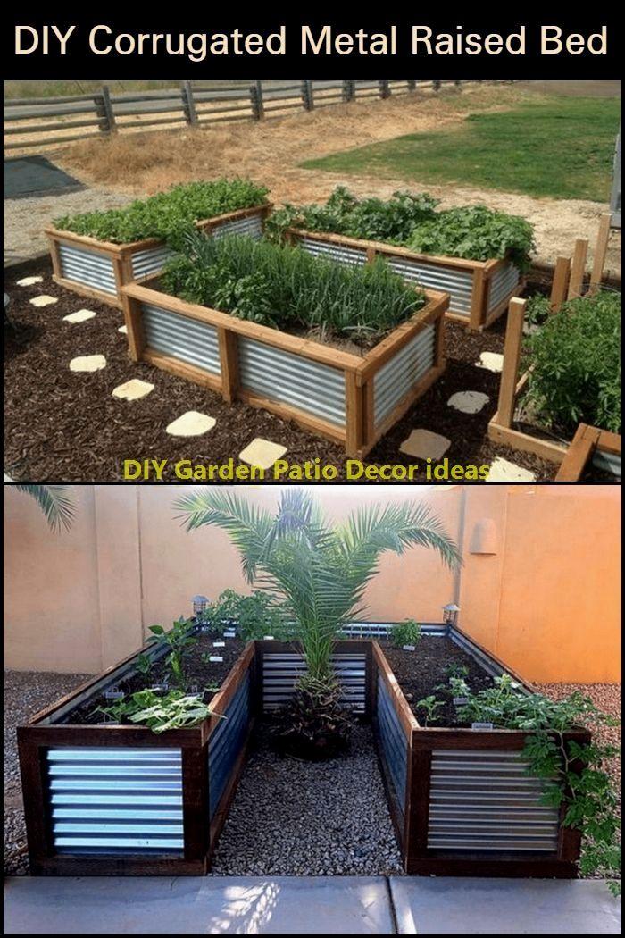 Cheap Backyard Ideas Decorate Your Garden In Budget In 2020 Building A Raised Garden Garden Beds Backyard