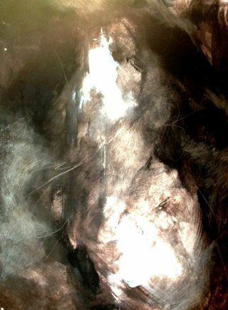 White Fire #artleanda #art #abstract #acrylic #painting