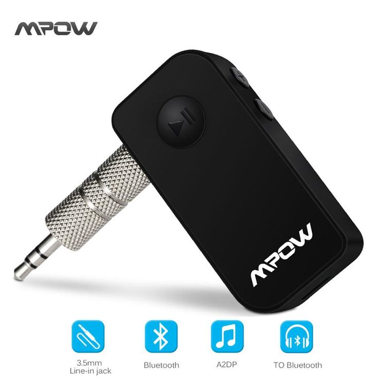 Original Mpow wireless Bluetooth receiver Handsfree 3.5mm Car Audio Music Streaming. Support APP: NoCommunication: WirelessOutput Power: OtherSupport Memory Card: NoIntelligent Personal Assistant: NoneRemote Control: NoMaterial: PlasticInterface Type: 3.5mmPlayback Function: MP3Model Number: MBR4Brand Name: MPOWSupport Apt-x: YesChannels: 2 (2.0)Audio Crossover: Full-RangeSpeaker Type: MiniFrequency Range: OtherDisplay Screen: NoVoice Control: NoBattery: YesCabinet Material…