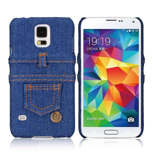 Spijkerstof hardcase hoesje voor Samsung Galaxy S5