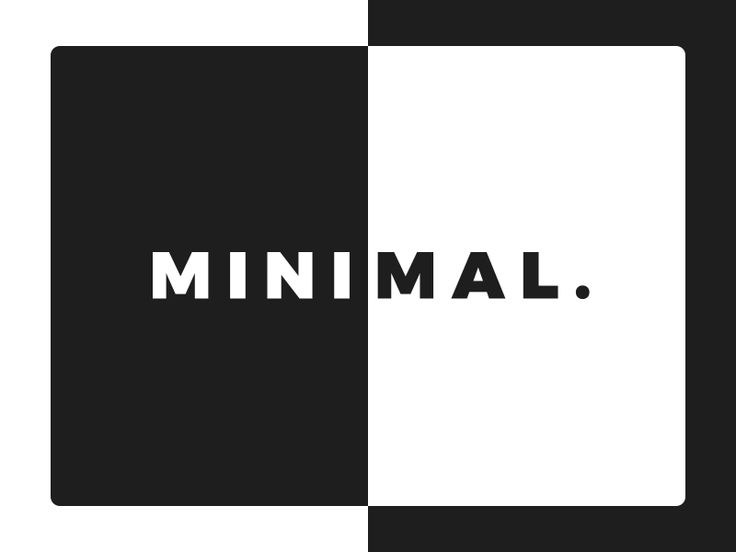 Minimal.:   This is part of a mini-poster series of different words and phrases on trippy backgrounds for a client I've been working with recently.    Looking for a Freelance Web Designer & Front-end Developer? Let's work together: iam@adam-marsden.co.uk Portfolio / GitHub / Twitter