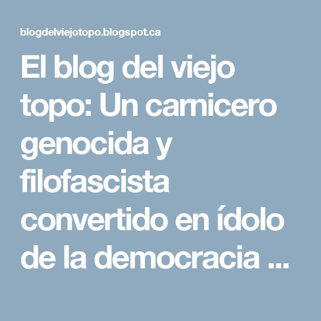 El blog del viejo topo: Un carnicero genocida y filofascista convertido en ídolo de la democracia burguesa británica. Los crímenes de Winston Churchill.