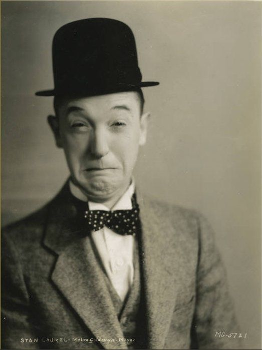 If anyone at my funeral has a long face, I'll never speak to him again. ~ Stan Laurel