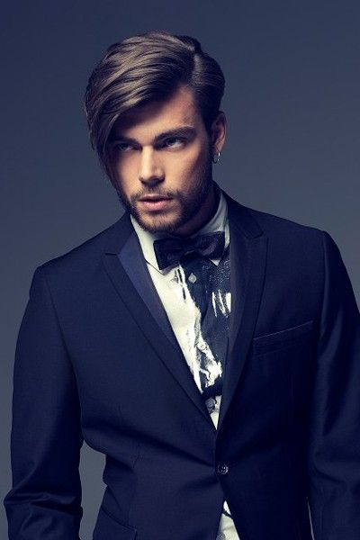 Long Classy Hairstyle For Men