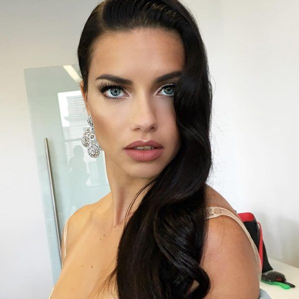 Adriana Lima's Secret To Shiny Hair Is One Of Your Favorite Foods
