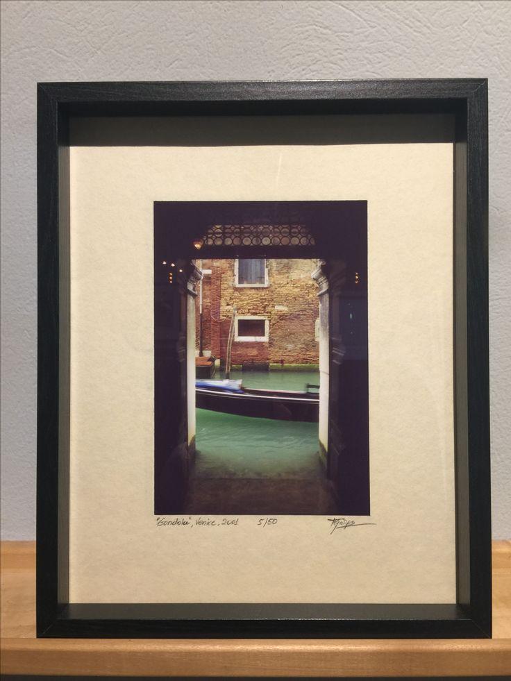 Gondola - Venice Vintage Photography