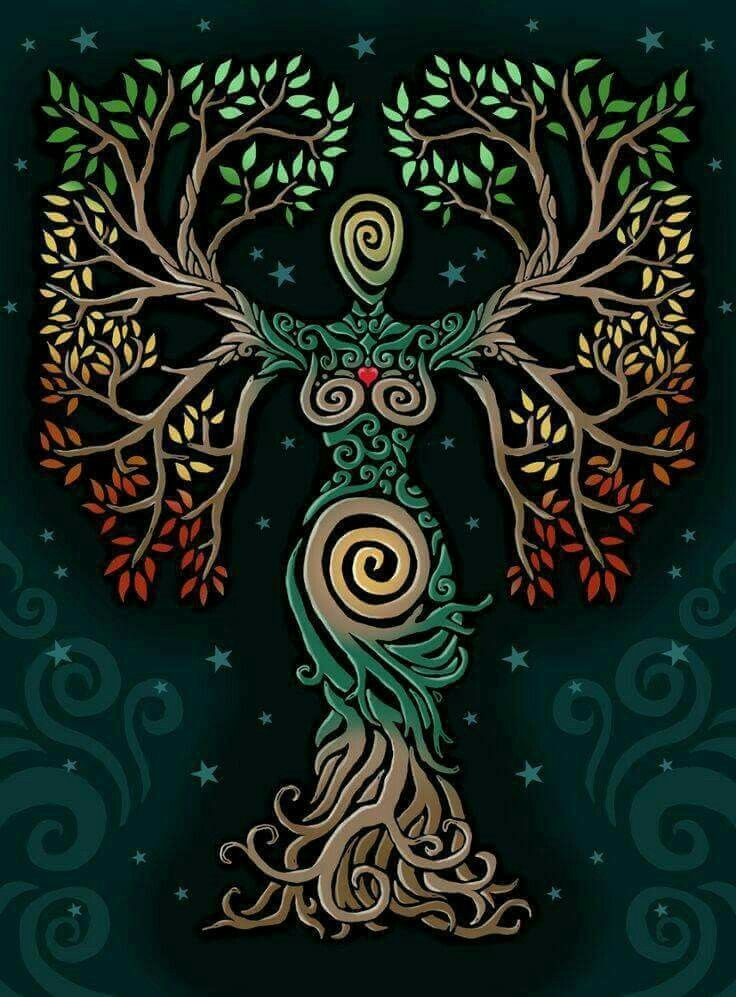Gaia is the goddess of Earth