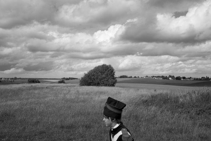 John Vink  BELGIUM. Waterloo (Brabant Wallon). 18/06/2011: Reenactment during the commemoration of the 1815 battle of Waterloo between Emperor Napoleon and a coalition force.