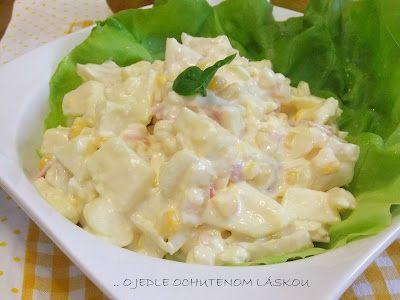 Pochútkový zelerový salát » O jedle ochutenom láskou