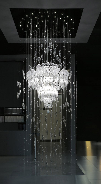 Large Modern Foyer Chandelier Ila575k130c Modern Chandelier