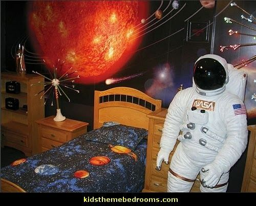 17 best ideas about space theme bedroom on pinterest for Outer space decor