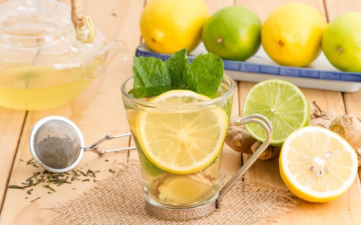 Cleanse out your insides with this delicious lemon mint ginger water! It is loaded with antioxidants like vitamin C, which aids the body in weight loss. Antioxidants help remove toxins from fat cells, which naturally reduces water retention and fat cell size. What I like most about this water is that it contains mint. Not