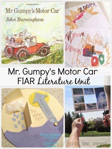 FIAR Literature Unit: Mr. Gumpy's Motor Car Activities for K-3