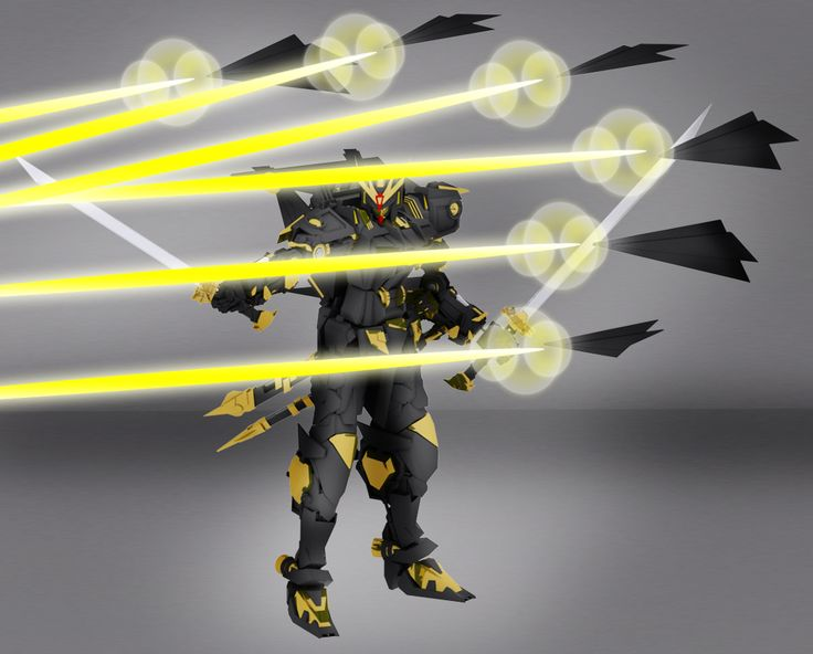 D-284DX The Ultimate Karasu Astray - funnels attack