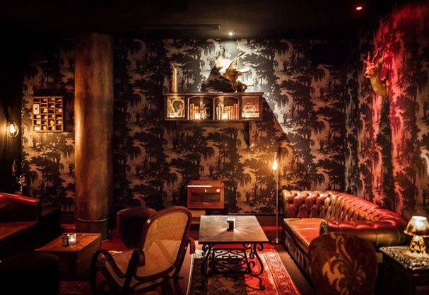 Le Blaine bar > entrée sur mdp @ 65 Rue Pierre Charron, Paris 8ème