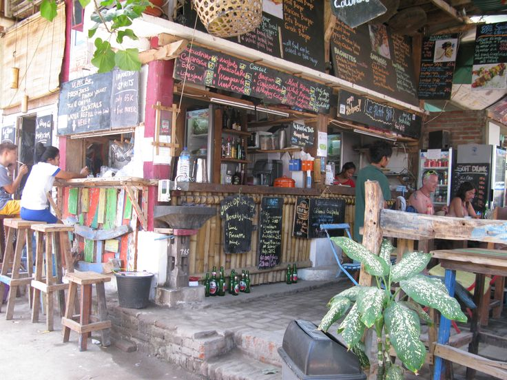 Gili Trawangan ,  restaurants, place to be  #bali #trawangan #gilitrawangan #lombok #iles