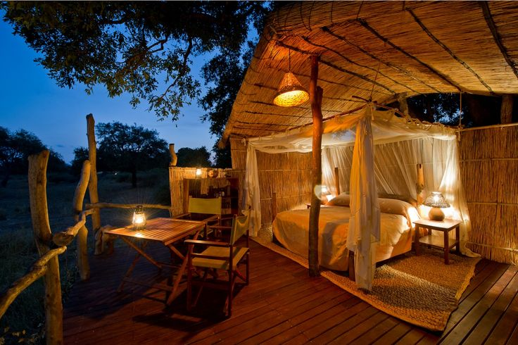 The ultimate: sleeping outdoors in luxurious comfort