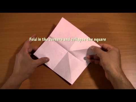 tutorial origami burung youtube