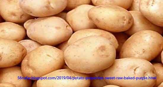 Potatoes are rich in fiber and potassium, which is most