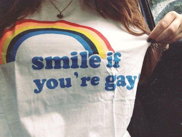 Wheretoget - Rainbow LGBT printed white tee-shirt