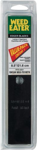 Weed Eater 952701674 8.5-Inch Lawn Edger Blade For PE550 and GE21, 2-Pack