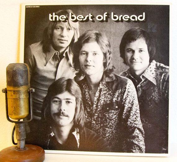 Bread with David Gates Vinyl Record Album 1970s Soft Rock