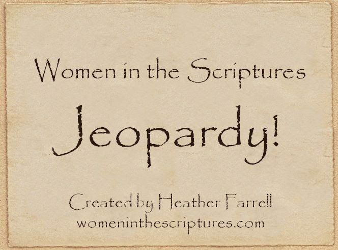 Women in the Scriptures Jeopardy! This is really a fun presentation and is perfect for introducing a group to the known (and little known) women of the scriptures. It includes women from the Old Testament, New Testament, Book of Mormon, Doctrine and Covenants and Pearl of Great Price.