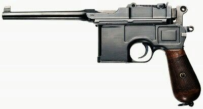 "Pre-War dated Mauser C96 ""Broomhandle"" Commercial Version - 7.63x25mm Mauser - Pistol"