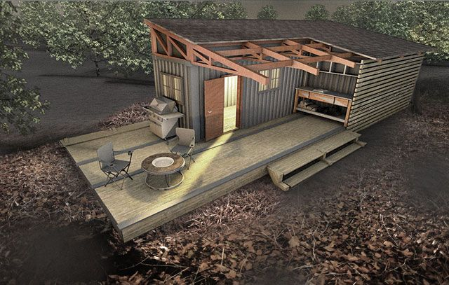 Cool Hunting Cabin Concept Mods Tiny Home Structures Are