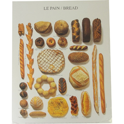 Le Pain French Bread Poster