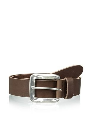 55% OFF Streets Ahead Men's Square Buckle Belt (Brown)