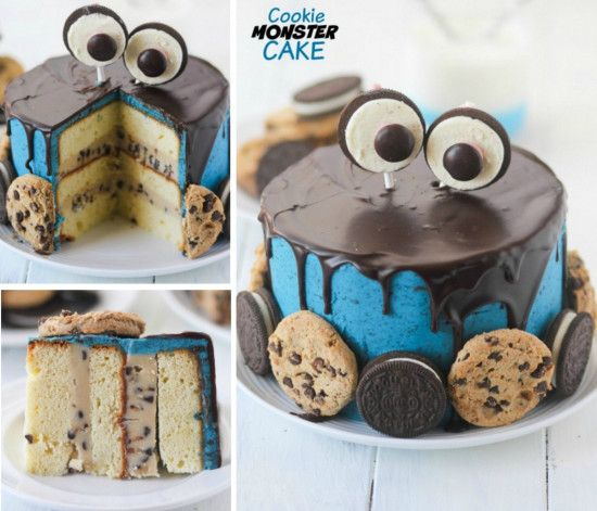 Cookie Monster Cake Is Definitely The One To Make | The WHOot